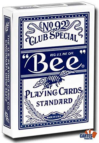 Mazzo di carte Bee - Dorso Blu (US Playing Card Company)