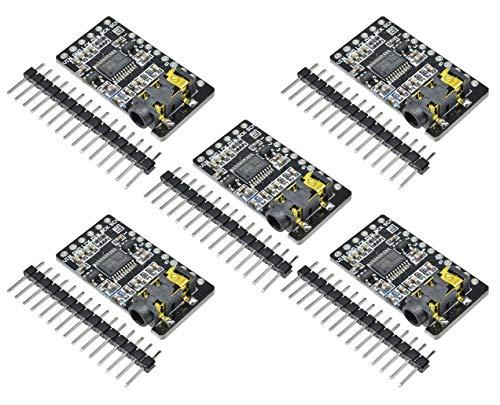TECNOIOT 5pcs PCM5102 Decoder GY-PCM5102 I2S Interface Format Player Digital Audio PCM5102A