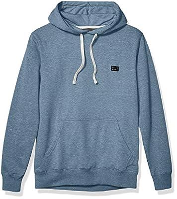 Billabong Men's All Day Pullover Hoodie Blue 2XL from Billabong