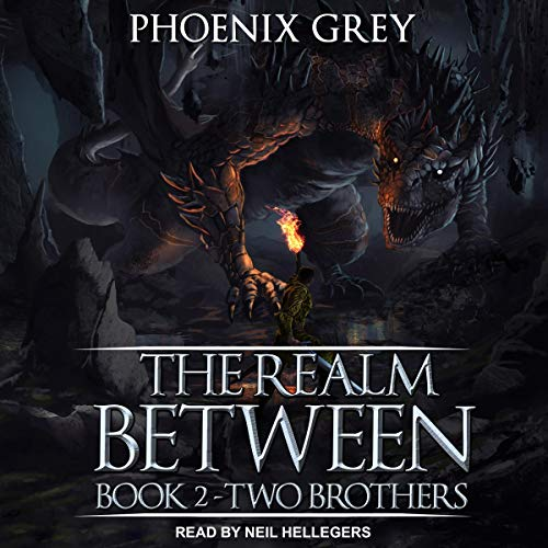 The Realm Between: Two Brothers audiobook cover art