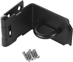 Deurhasp slot 90 graden, roestvrij staal haakse hangslot Hasp vergrendeling beveiliging deursluiting Hasp slot slot slot s...