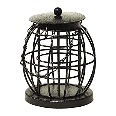 Kingfisher Mini Caged Fat ball Feeder from King Fisher
