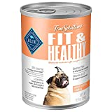 Blue Buffalo True Solutions Fit & Healthy Natural Weight Control Adult Wet Dog Food, Chicken 12.5-oz cans (Pack of 12)