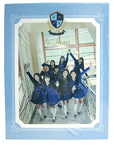 fromis_9 To. Heart Photobook+CD 1st Mini Album Kpop Collection Sae-Rom Ha-Young Gyu-Ri Ji-Won Ji-Sun Seo-Yeon Chae-Young Na-Gyung Ji-Heon