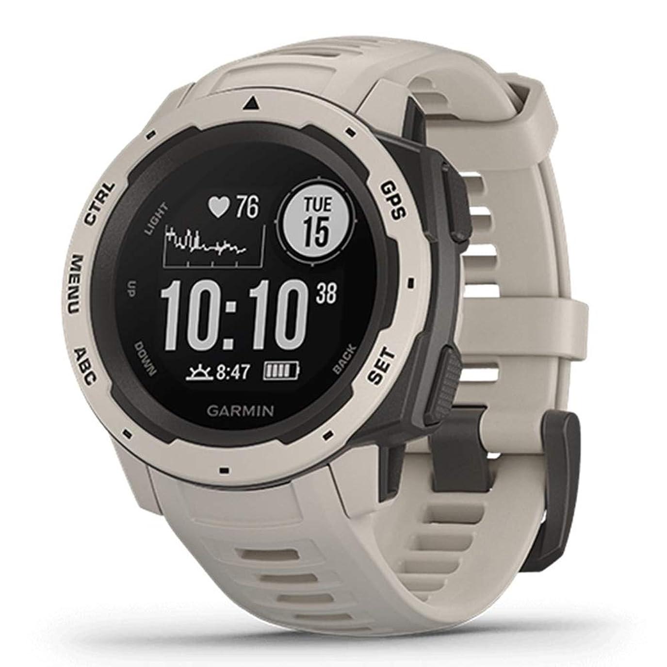 スクランブル宿命まだ[ガーミン]GAMIN メンズ レディース GPSアウトドアウォッチ Instinct インスティンクト スマートウォッチ スポーツ Instinct Tundra 腕時計 [国内正規品]