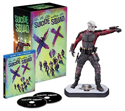 Suicide Squad inkl. Digibook & Deadshot Figur inkl. Blu-ray Extended Cut (exklusiv bei Amazon.de) [3D Blu-ray] [Limited Edition]