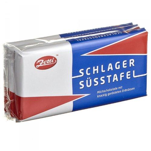 Zetti Schlager-Süßtafel 3x100g