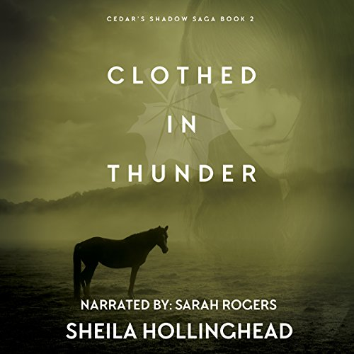 Clothed in Thunder audiobook cover art