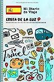 Costa de la Luz Diario de Viaje: Libro de Registro de Viajes Guiado Infantil - Cuaderno de Recuerdos de Actividades en Vacaciones para Escribir, Dibujar, Afirmaciones de Gratitud para Niños y Niñas