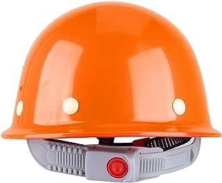Helmet; Safety Helmet; Construction Helmet; Work Helmet; Protective Helmet,0 Safety Hard Hat, ABS Adjustable Breathable Safety Hard Helmet Protective Hat Cap for Construction Site(Orange)