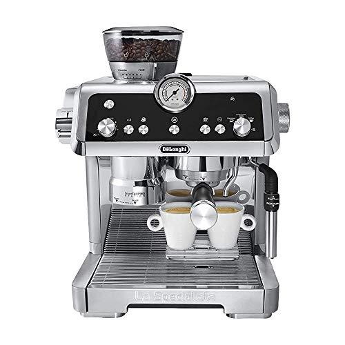 De'Longhi EC9335.M La Specialista Espresso-Siebträgermaschine, Silber