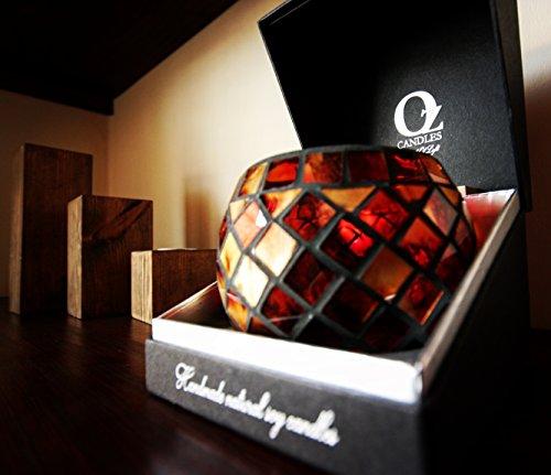 Oz Candles Creed Candela Candele di Lusso Mosaico