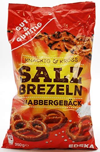 Gut und Günstig Salz Brezeln, 16er Pack (16 x 250g)