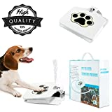 PetBOYA Dog Drinking Water Fountain Step On, Easy Paw Activated Drinking Pet Dispenser, Easy to use