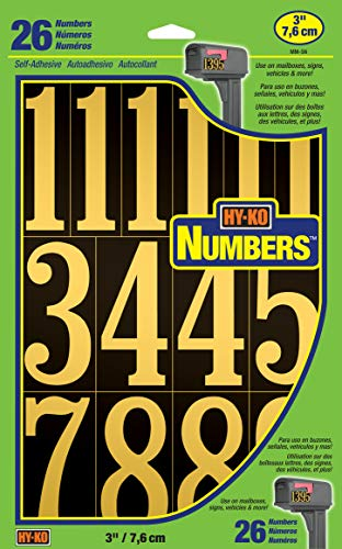 Best house numbers stickers black for 2020
