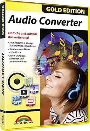 Preisvergleich Produktbild Audio Converter - MP3,  Sound Dateien bearbeiten,  konvertieren,  umwandeln für Windows 10 / 8.1 / 7 Neue Version