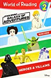 World of Reading: Star Wars Galaxy of Adventures: Heroes & Villains (Level 2)