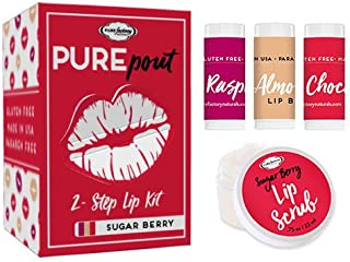 PUREpout, Sugared Berry 2-Step Lip Kit