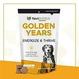 VetriScience – Golden Years Energize & Thrive, Multivitamin for Senior Dogs Chicken Liver Flavor, 60 Bite-Sized Chews