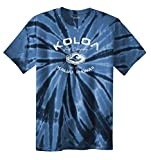 Koloa Surf(tm) Vintage Arch Logo Tie Dye Shirt-Navy/w-S