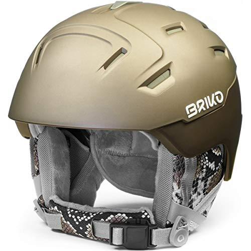 Briko (ZIOIO) Zaffiro, Helmet Donna, Bronze-Python, M/L