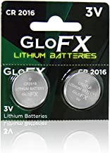 CR2016 Battery- Lithium Button Coin Cell Batteries - 3V 3 Volt - Remote Watch Jewelry led Rave Gloves Orbit Key fob Replacement 2016 CR Pack Set Bulk (2 Pack)