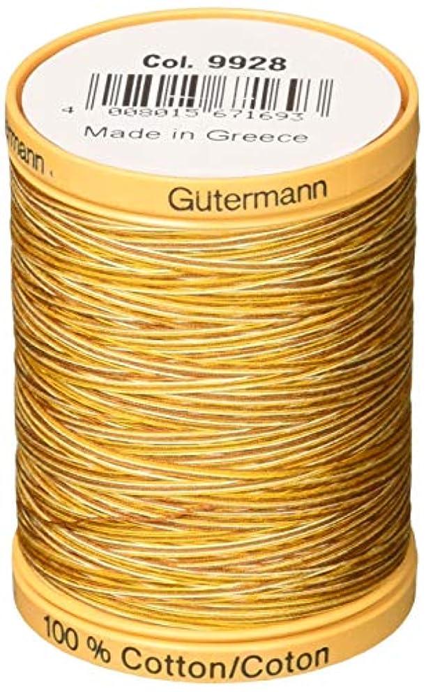Gutermann Natural Cotton Thread Variegated 876 Yards-Butternut