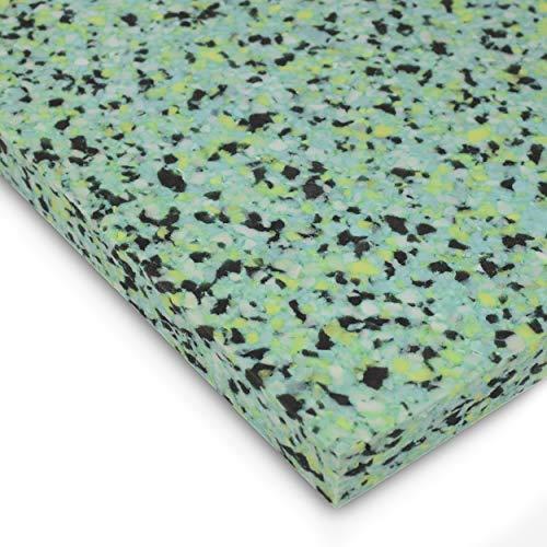 AcousPanel 6 planchas aislantes para insonorización y aislamiento acústico de paredes y techo. Paneles de espuma aglomerada insonorizante. Medidas 1000 x 500 x 40 mm.