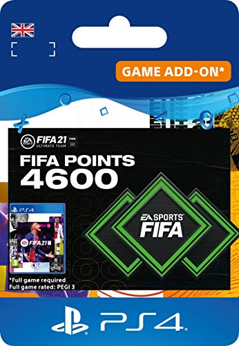 FIFA 21 Ultimate Team 4600 FIFA Points | PS4 (incl. free upgrade to PS5) Download Code - UK account