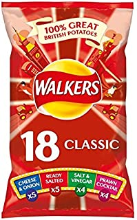 Walkers Variety Crisps 24g x 18 per pack