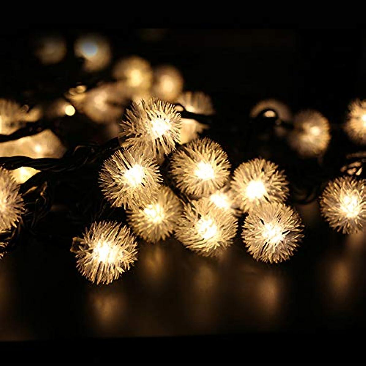 練習抵抗力がある繁栄するコットンキャンディイルミネーション 100球 10m LED イルミネーション 【黒ケーブル】 (暖色)