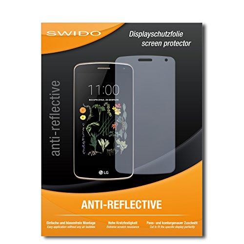 SWIDO Bildschirmschutz für LG K5 [4 Stück] Anti-Reflex MATT Entspiegelnd, Hoher Festigkeitgrad, Schutz vor Kratzer/Glasfolie, Schutzfolie, Bildschirmschutzfolie, Panzerglas Folie