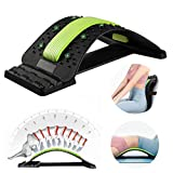 Lower Back Stretcher,Multi-Level Back Stretcher Set with Extra pad,Bandage,Carry Bag ,Ideal for Herniated Disc, Sciatica, Scoliosis, Lower and Upper Back Stretcher Support
