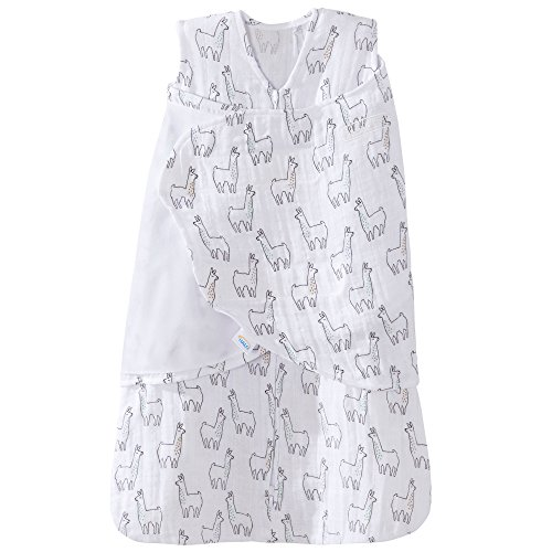 Halo 100% Cotton Muslin Sleepsack Swaddle Wearable Blanket,...