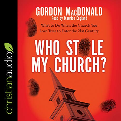 Who Stole My Church? audiobook cover art