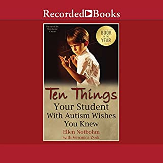 Page de couverture de Ten Things Your Student with Autism Wishes You Knew