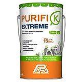 Impermeabilizante Blanco,15 años, 26 Litros, Limpia el Aire y Elimina Bacterias, Reflectivo, Resiste UV, Purifi-k Extreme