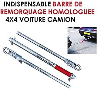 Hyper Solide Normes TUV Barre DE REMORQUAGE 1,8T DEMONTABLE Raid Preparation 4X4 LCM2014 Special Grosses Charges