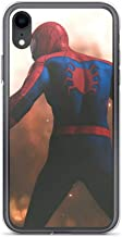 iPhone Xs Max Pure Anti-Shock Clear Case Far from Home Spiderman Peter Parker Stan Lee Movie Shield Avengerss Comic Superhero