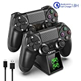PS4 Controller Charger for Playstation 4 Controller, OIVO PS4 Controller Charging Dock Station with Fast-charging Chip for Dual Shock 4 Controller