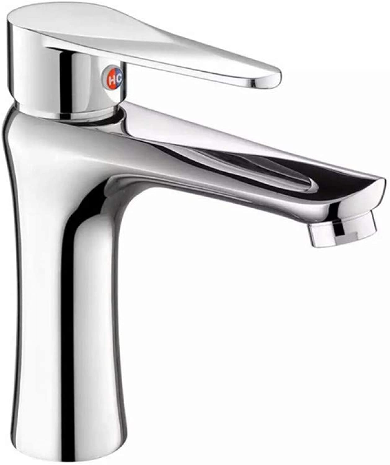 Glz Tap Faucet Full Copper Basin Faucet hot and Cold Single Hole Faucet