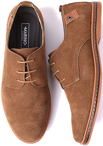 Marino Oxford Suede Dress Shoes for Men