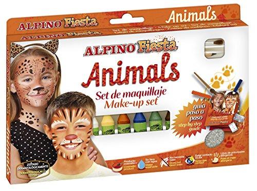 Maquillaje Alpino Fiesta Set Animals 6 Colores x 5gr