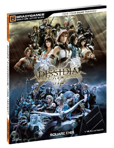 Dissidia 012 Duodecim Final Fantasy Signature Series Guide