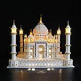 BRIKSMAX Kit de Iluminación Led para Lego Creator Expert Taj Mahal,Compatible con Ladrillos de Construcción Lego Modelo 10256, Juego de Legos no Incluido