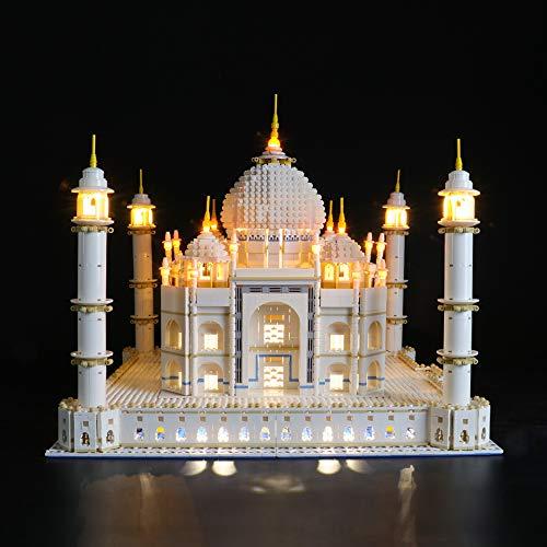 BRIKSMAX Kit di Illuminazione a LED per Lego Creator Taj Mahal,Compatibile con Il Modello Lego 10256 Mattoncini da Costruzioni - Non Include Il Set Lego.