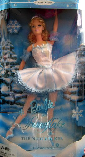 Barbie as Snowflake Doll in The Nutcracker Collector Edition