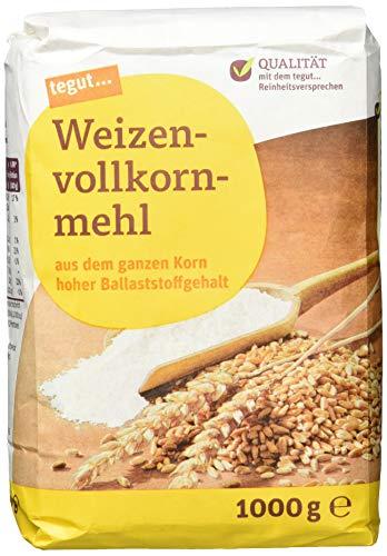 tegut... Weizen-Vollkornmehl, 1.00 kg