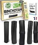 baytiz | Filtre à Eau Végétal au Charbon Actif de Bambou - Baton de Binchotan Bio x5 - Purifier l' Eau du Robinet - Bois Naturel Carafe Bouteille Vrai Purificateur Verre Filtrante Écologique Cadeau