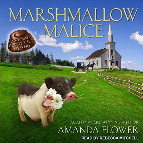 Marshmallow Malice audiobook cover art